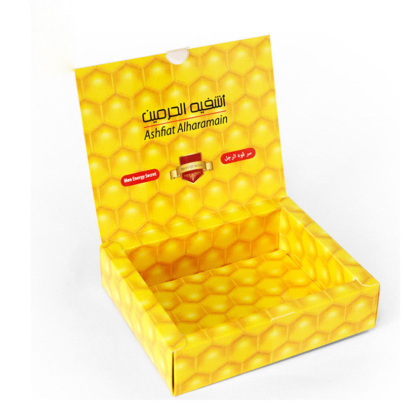 Full Color Ties Garment Packaging Boxes CMYK Printing White Cardboard